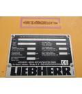 Ładowarka kołowa marki LIEBHERR L580 2plus2