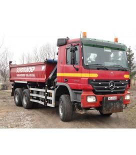 Samochód ciężarowy marki MERCEDES-BENZ Actros 3336AK 6x6 wywrot + HDS