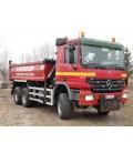 Samochód ciężarowy marki MERCEDES-BENZ Actros 3336AK 6x6 wywrot 3-stronny + HDS