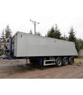 Naczepa aluminiowa wywrotka 3-osiowa marki NOVA TRAIL Typ SKI 24