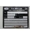 Naczepa stalowa wywrotka 3-osiowa marki MEILLER model MHPS 41/3 Typ TR3